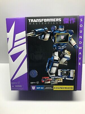 Transformers Masterpiece Soundwave 2013 Toys R Us Exclusive Ravage Rumble Frenzy