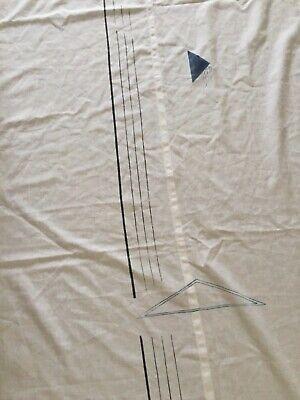 Tenda tipo a pannello con velcro e piega per fissaggio portafinestra -Finestra