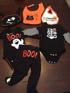 Halloween cloths size 6m and 6-9m