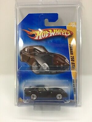 ULTRA RARE VHTF ~ Ferrari 250 GTO Black Variant 2009 Hot Wheels NEW MODELS