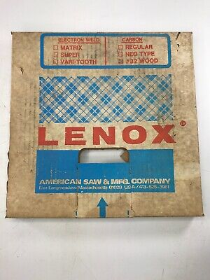 Lenox Bandsaw Blade Coil Stock 100 X 1 X4 Tpi. 32 Wood Coil.032