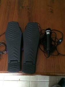 Guitar Hero Xbox 360 Microphone and x2 Drum Pedals East Maitland Maitland Area Preview