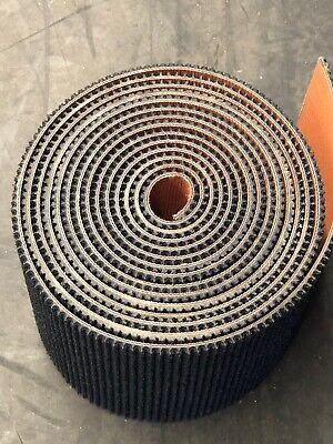 Conveyor Belt 2 Ply Black Rough Top Rubber Incline Conveyor Belt 14x4 Piece