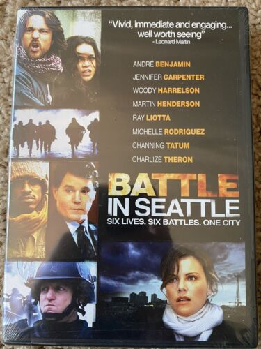 Battle In Seattle DVD, 2009 Charlize Theron, Woody Harrelson, Ray Liotta - $5.00