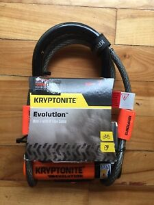 "Kryptonite Evolution 7"" bike u lock"