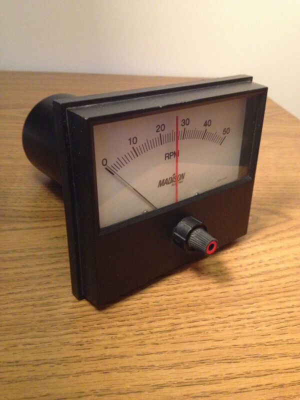 MADISON ELECTRIC  A1CO-14-RPM-50-RB200 TACHOMETER