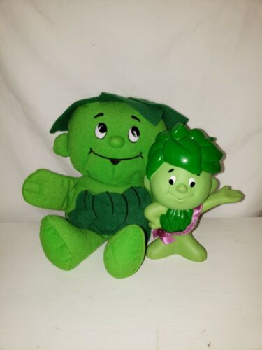 Green Giant doll and Sprout