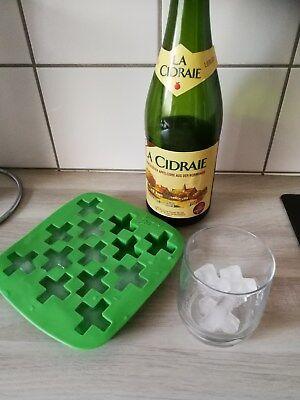 3 x Eiswürfelform aus Silikon Kreuz Eis-Maker Silikonform Grün Kühlschrank   Eis-maker, Kühlschrank