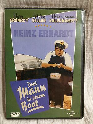 Drei Mann in einem Boot - Heinz Erhardt - DVD - Top!!