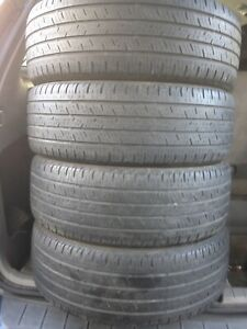 4-215/55R18 Continental all season
