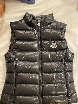 Moncler kids vest, Black, size 14