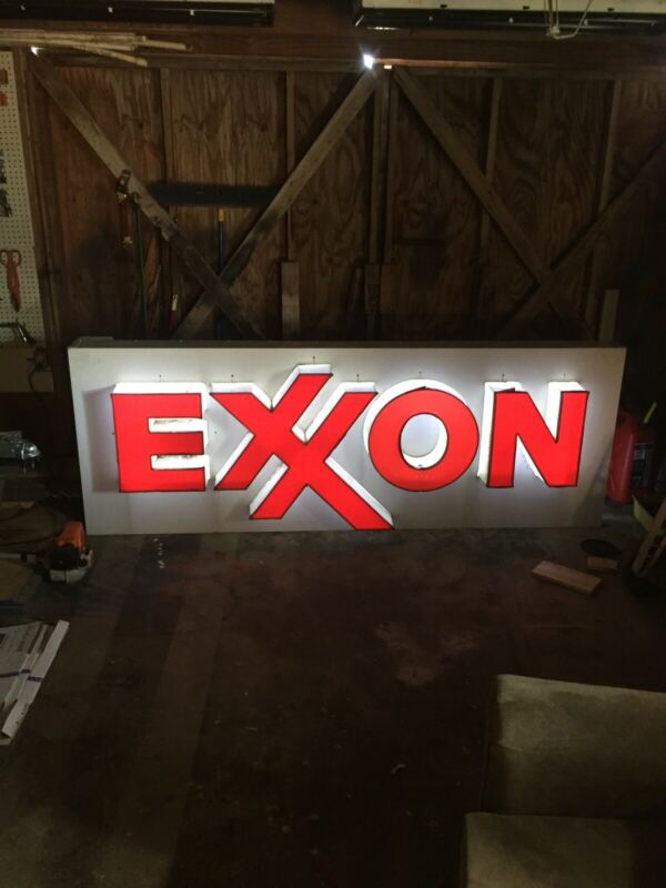 Exxon Sign Used