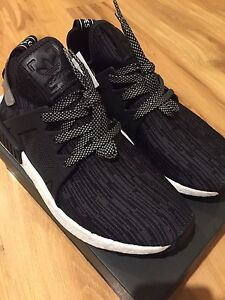 BNWT Adidas NMD XR1 Core black prime knit shoes size 7.5 US Southern River Gosnells Area Preview