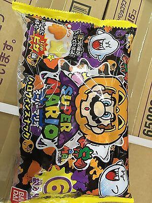Super Mario Bros halloween package pizza snack set japan nintendo