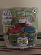 Sesame Street Bongo TV Games Booval Ipswich City Preview