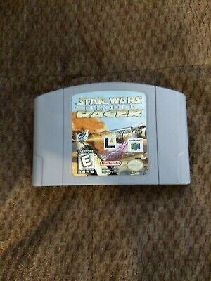 N64 Star Wars Episode I 1 Racer (Nintendo 64 1999) One of the best racing (Best N64 Racing Games)