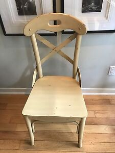 8 Pier 1 dining chairs. Great shape!