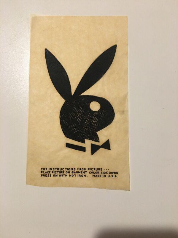 Vintage Playboy Iron-On Transfer