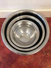 stainless steel mixing bowls Rozelle Leichhardt Area Preview