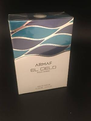 Armaf El Cielo Perfume 3.4 oz / 100 ml Eau De Parfum for Men NEW