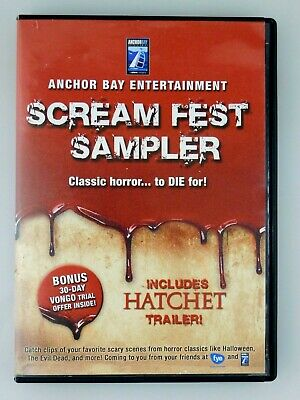 Movie Halloween Trailer (Scream Fest Sampler DVD - Classic Horror Trailers, Clips and)