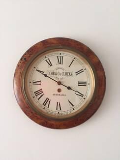 Cobb & Co. Wall Clock