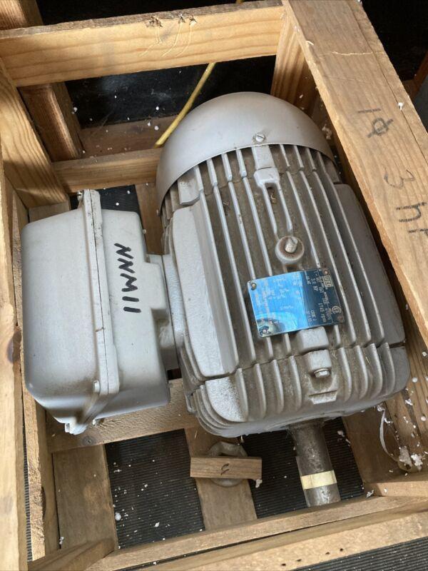 Weg 3 HP 1 phase 1800 RPM 208-230 / 460 volt Electric motor
