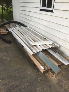 Various Sheet steel and trim.