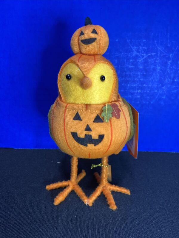 Ghoulish Pumper Target Hyde and Eek! Featherly Friends Fabric Bird New 2021