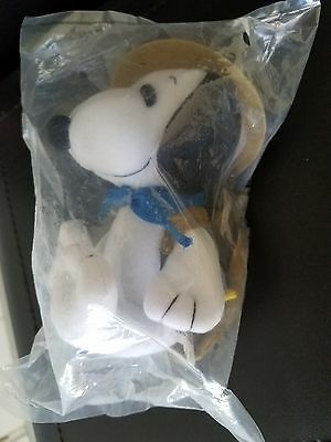 Metlife Snoopy Plush Beagle Scout  Peanuts United Feature   4425  Woodstock Zip