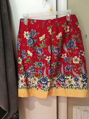 Talbot's - Ladies Skirt (Fully Lined) - Pre-owned - Size 8 Petite