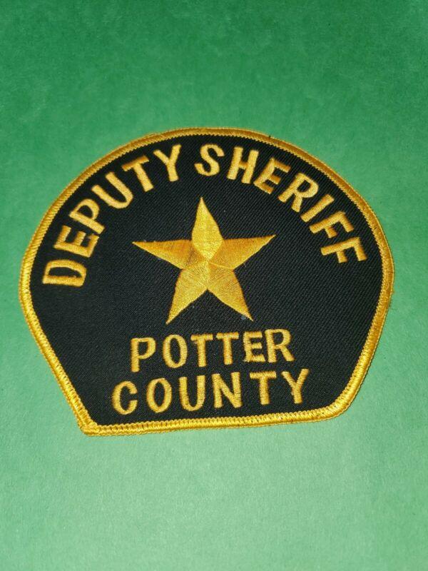 Deputy Sheriff Potter County South Dakota Patch