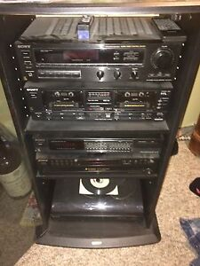 Sony stereo System complete  Vintage from 1980