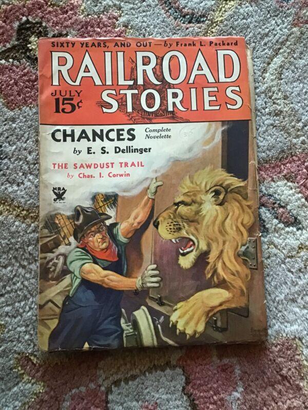 RAILROAD  STORIES  MAGAZINE  JULY 1934