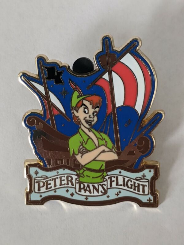 Peter Pans Flight Attraction Series DLP Disneyland Paris Pin
