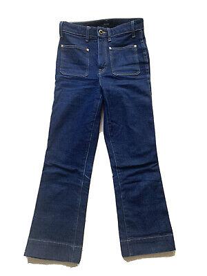 Khaite Raquel Cropped Jeans Size US 26