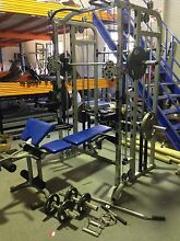 Bars+90 kg Olympic Weights 180PT+ SMITH-FUNCTIONAL TRAINER-CAGE Osborne Park Stirling Area Preview