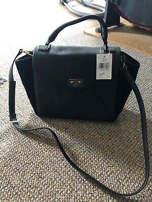 Kate Spade Laurel Wesley Place Leather Suede Handbag Cross Body Shoulder Bag NEW