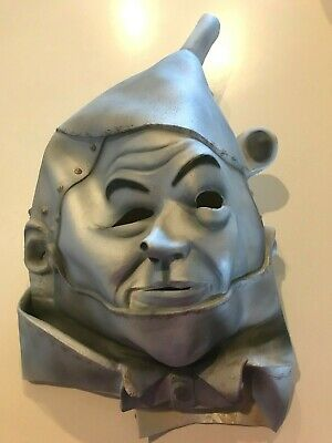 Tin Man Mask (WIZARD OF OZ TIN MAN HALLOWEEN MASK NEW MINT CONDITION MOVIE COSTUME ACCESSORY)