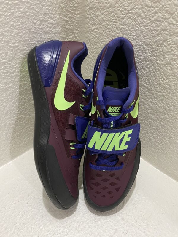 New NIKE MENS TRACK AND FIELD (SHOT PUT/DISCUS) SHOES 685131-600 SIZE 9
