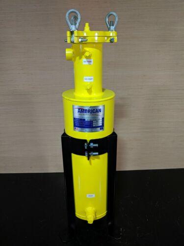 American Melt Blown & Filtration SB-HB5221ACS-WEI Swing Bolt Cartridge Housing
