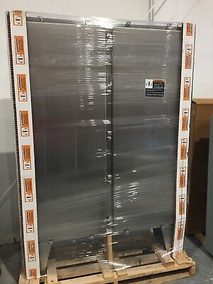 Hoffman A74h6012sslp Enclosure Stainless Steel 74.06 X 60.06 X 12.06 Inch New