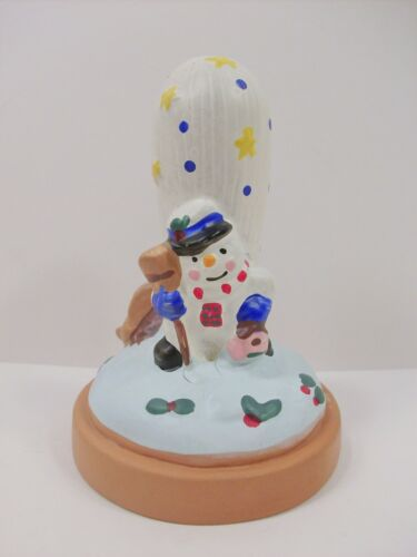 small snowman cookie stamp