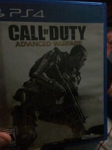 Advanced warfare ps4