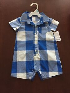 Carters romper size 6 months