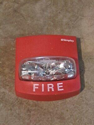Simplex Fire Alarm Strobe Model 4904-9331 Red 15 Candela Sync