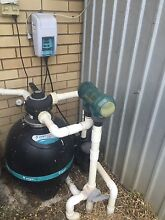 Pool filter chlorinator and pump Baulkham Hills The Hills District Preview