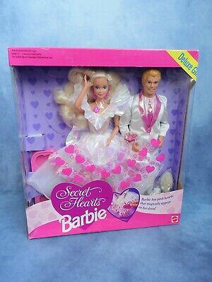 ♡ BARBIE + KEN ♡ Secret Hearts Deluxe Gift Set ♡ NRFB...