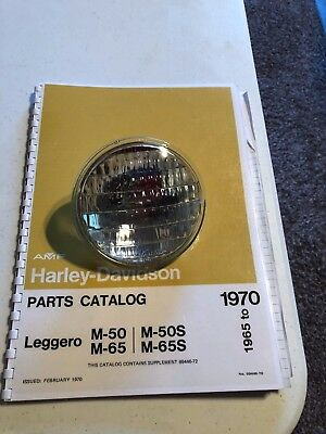 1965 HARLEY AERMACCHI M-50CC & M65CC SEALED UNIT 67716-65  AMF for sale  Twin Lakes