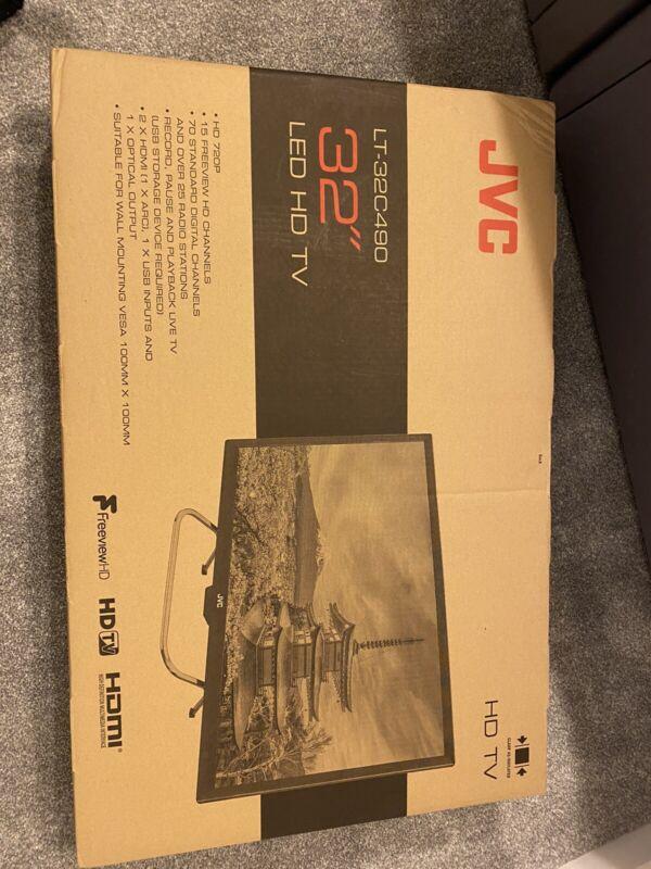 32%E2%80%9D+JVC+TV+LED+new+In+Box